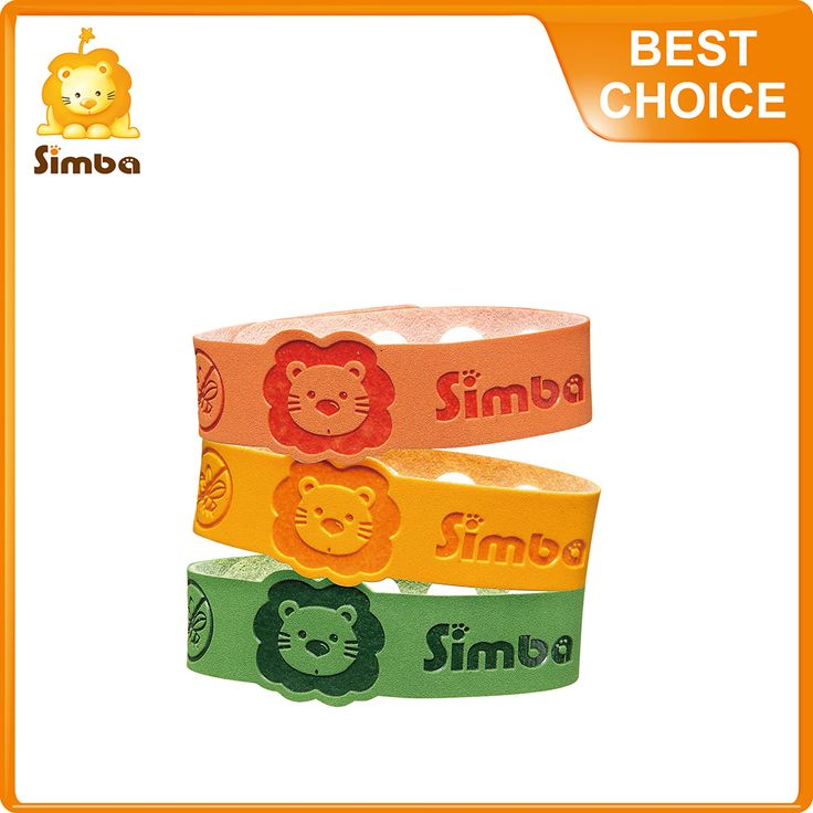 Mosquito Repellent Bracelets Simba 3-Piece - Insect Nets & Repellents