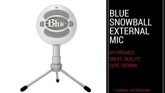 I reviewed the Blue Snowball microphone.  It's a great microphone for anyone wanting an affordable way to start creating great projects!