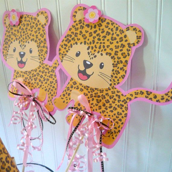 20 best pink cheetah birthday images on Pinterest Leopard