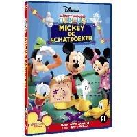 """Ga mee op de speurtocht en speel verstoppertje wanneer Mickey en zijn vriendjes op jacht gaan naar een verborgen schat! Pluto heeft een geheimzinnige kaart gevonden en daarop wordt de plek met een """"X"""" aangegeven.  http://www.eenkadovoorkinderen.nl/347/6793/mickey-de-schatzoeker"""