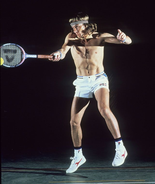 Björn Borg - Photo shoot for Sports Illustrated.
