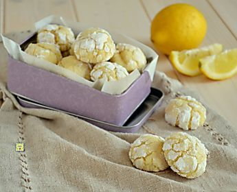 Lemon crinkles, dolcetti al limone facili, veloci e deliziosi