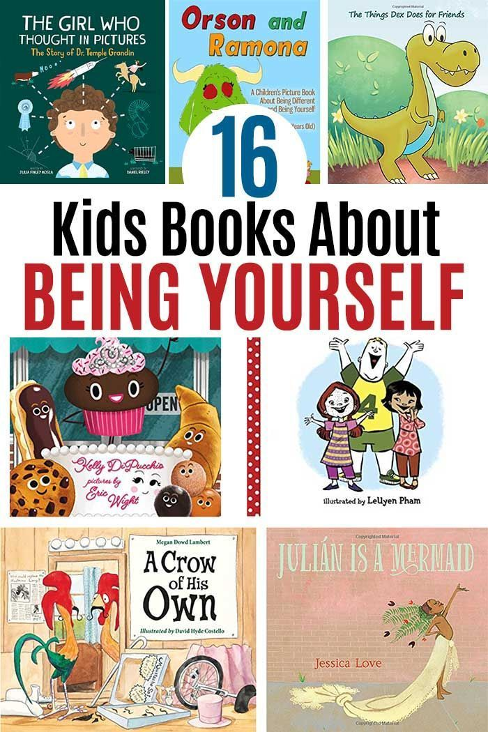16 Picture Books About Being Yourself For Kids Learning