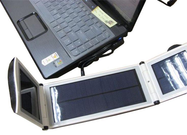 Solar Power-Station 12000 mA/h für Laptop, Handy, iPhone, MP4, iPad, Digicam,GPS.  Mein neuer Reisebegleiter !