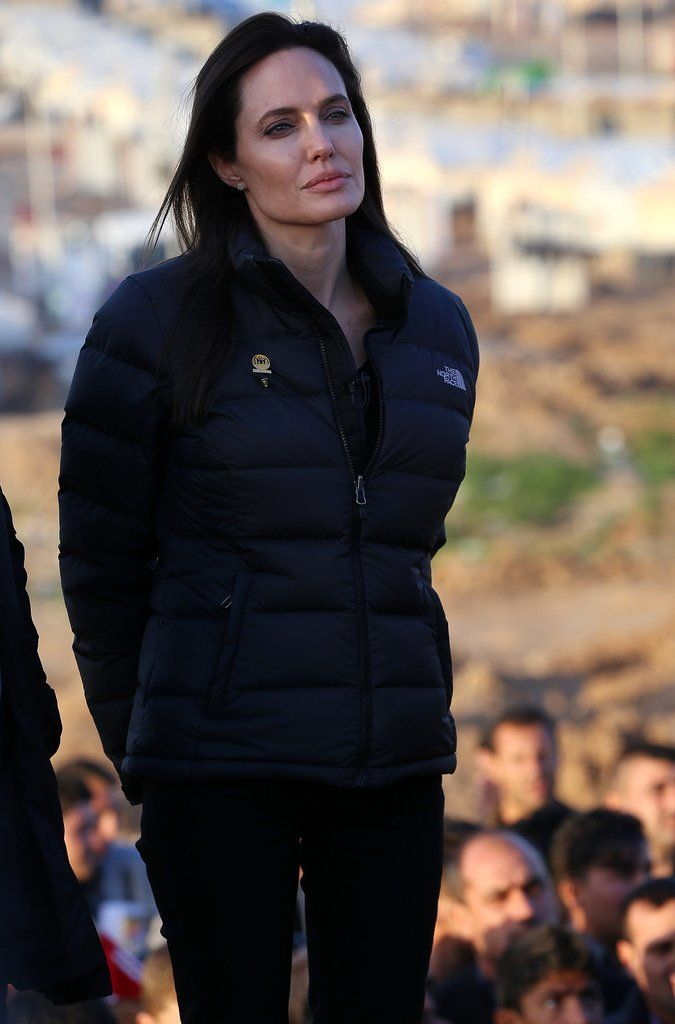 Over the weekend, Angelina Jolie headed to Northern Iraq, where the actress and UN Special Envoy visited a refugee camp for thousands of people who fled their homes following ISIS attacks.