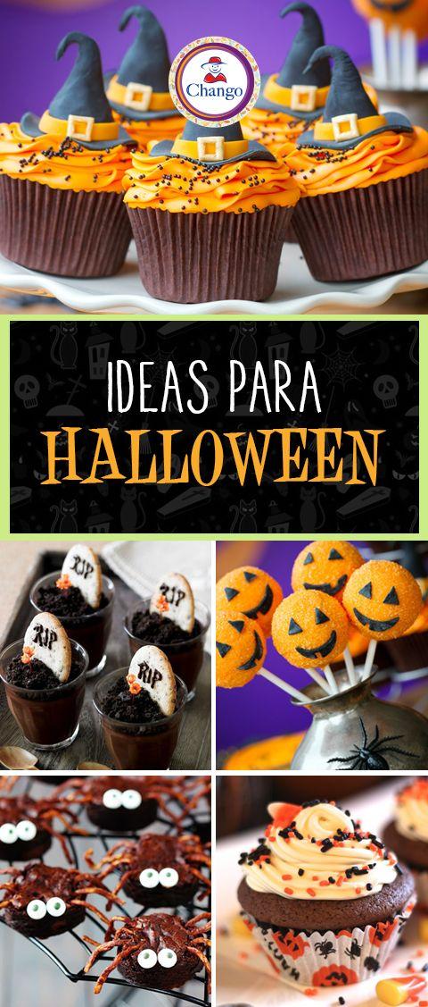 Las ideas para las decoraciones más divertidas las encontrás en nuestro blog: http://blog.azucarchango.com.ar/blog/post/Cupcakes%20Creativos%20para%20un%20Halloween%20Distinto/566