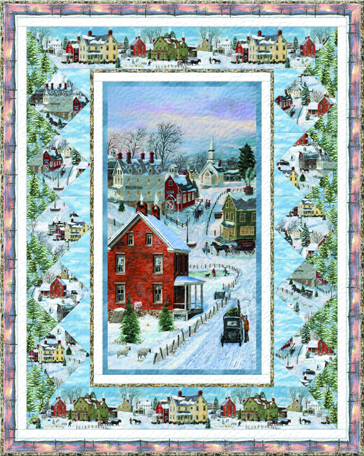 After The Snow Free Quilt Pattern By Wilmington Prints