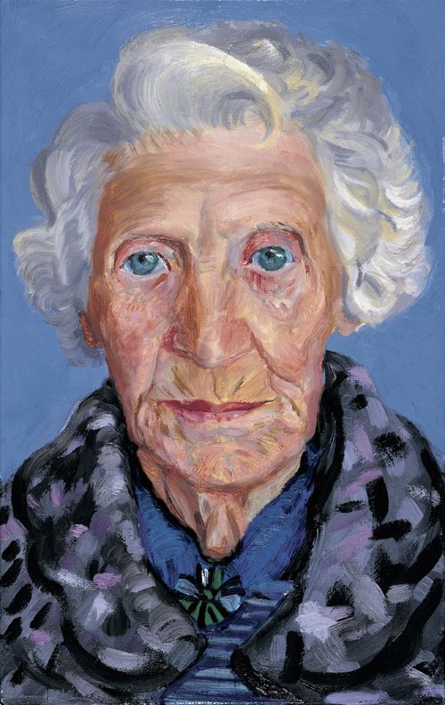 David Hockney - Mum (1988-89)