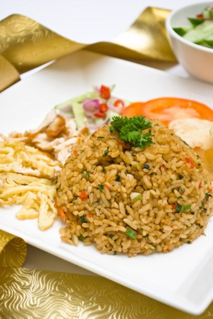 Indonesia (Java): Nasi Goreng. Fried rice, with fish or meat, often a ...