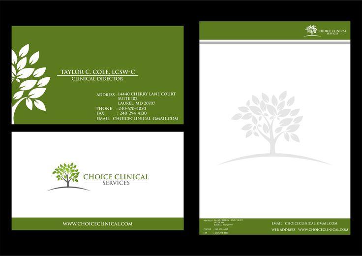 Vector Logo With Sale : Logo Design - Choice Clinical LLC