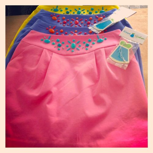 I love this Emma Graham skirt!: Graham Skirts, Style, Fashionista, Dream Closet, Color, Beaded Skirts, Bright Skirts