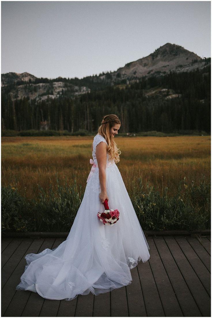 Utah mountain bridals - big cottonwood canyon - brighton, utah - brianna smith photo