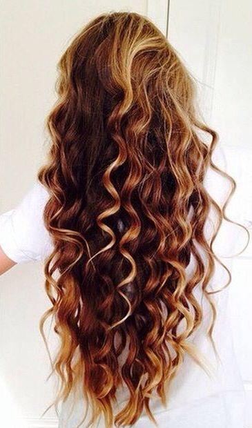 Highlights curly hair #gorgeoushair