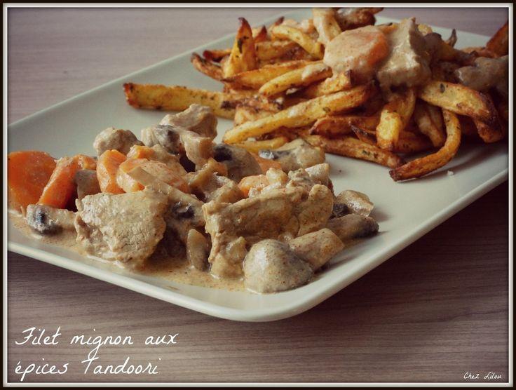 Filet mignon aux épices Tandoori au Cookéo