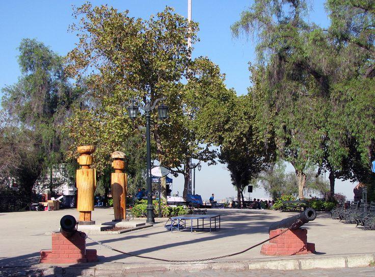 Cerro Santa Lucía, Santiago de Chile - Region de los Lagos, Chile, América do Sul - South America