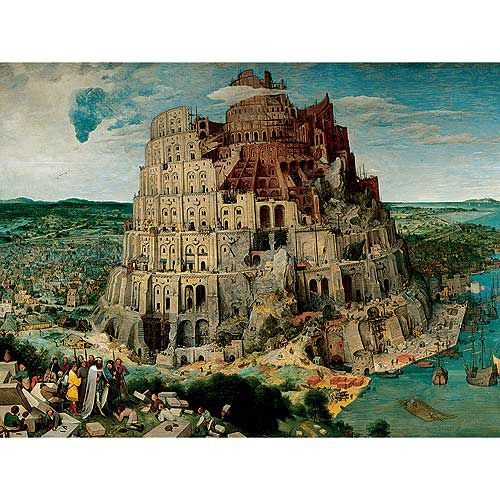 The Tower of Babel Jigsaw Puzzle: 5000 Pcs by Ravensburger