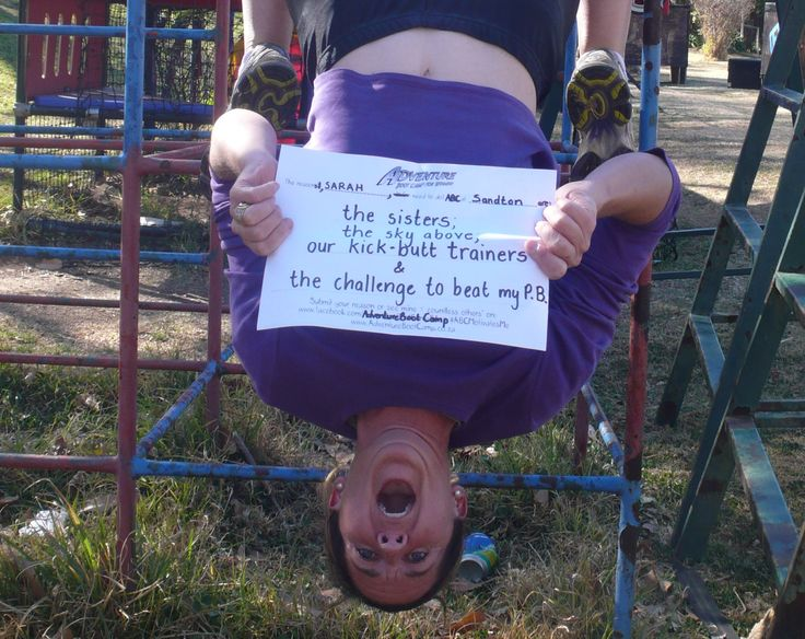 Sarah's entry - Sandton  #competition #motivate www.facebook.com/AdventureBootCampSA