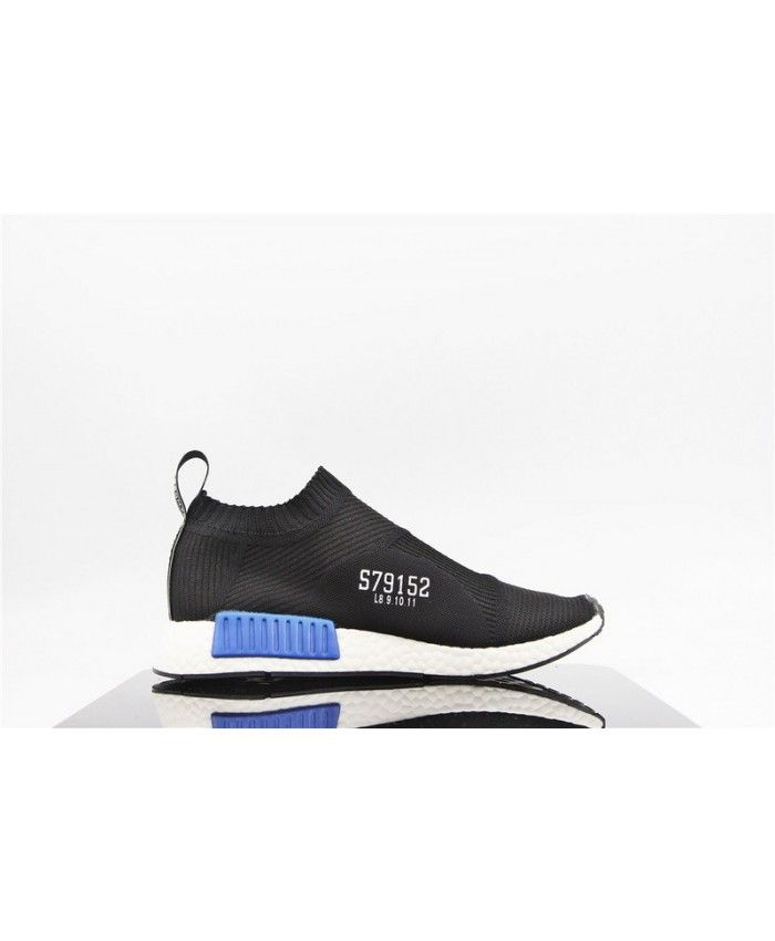 1943b9a83102c7 Adidas Nmd City Sock Primeknit Core Black Lush Blue White trainers for cheap