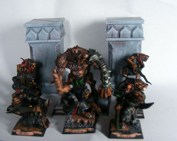 Filthy Rats. Skaven MoRdheim WarBand by Quenta-Silmarillion on DeviantArt