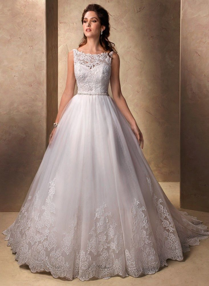 Пышные свадебные платья - наряд настоящих принцесс!