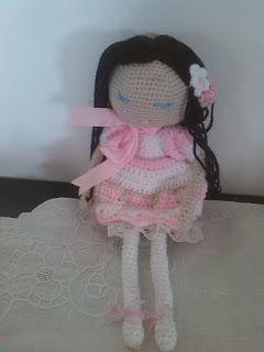 La Borseria by Giusi:  LE BRICS-bamboline all'uncinetto