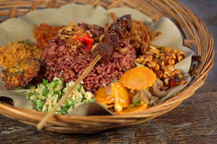 Traditional balinese food in #Bali #TraditionalBalineseFood