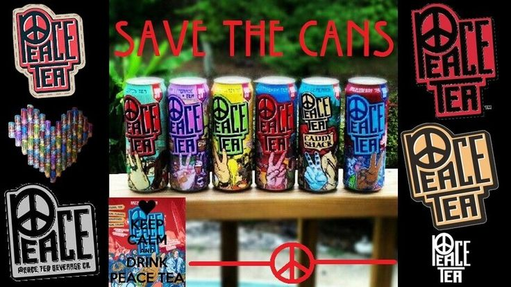 """I want to bring back the original Peace Tea cans because the art wasn't just art. It was a depiction of peace movements that is clearly supported by this statement from the company when Monster Beverages owned them. """"Peace Tea stands for social obligation, social awareness, benevolence, compassion..."""