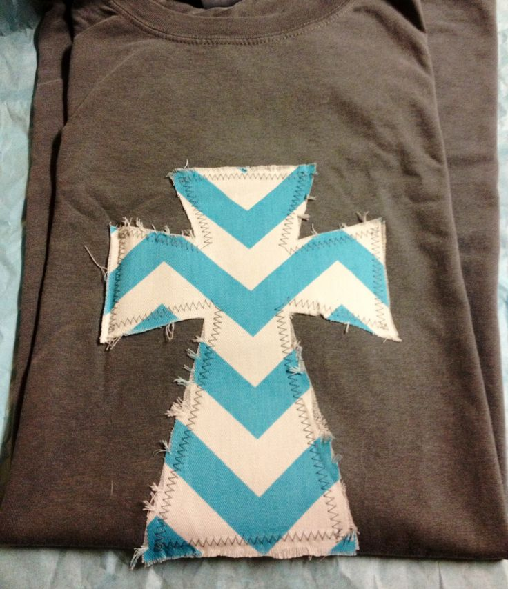 Chevron Cross T-shirt. $31. Www.facebook.com/binkys9