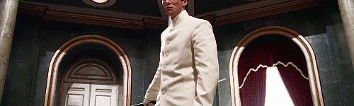 Fantastic gif of Cleric John Preston played by Christian Bale in the movie EQUILIBRIUM. This movie was AWESOME!!!