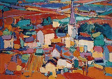 ukraine village painting - Google Search
