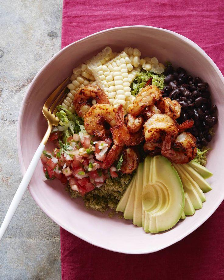 Avocado Shrimp Quinoa Bowl from http://www.whatsgabycooking.com (/whatsgabycookin/)
