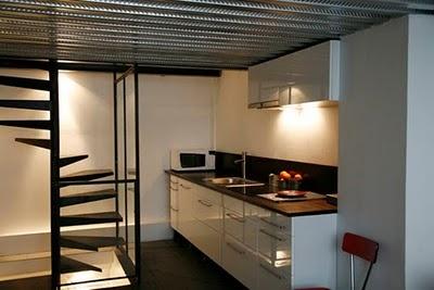 Un loft à Paris... Appartement meublé à louer-  Photo Alex Profit