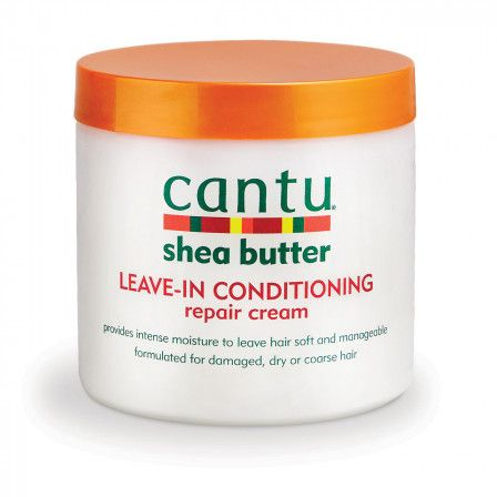 Same great formula as Cantu Leave-In Conditioning Repair Cream, America's #1 Leave-In, optimized for Natural Hair. When used daily, it helps promote stronger, healthier hair. Made with pure shea butter and formulated without harsh ingredients.    NO MINERAL OIL, SULFATES, PARABENS, SILICONES, PHTHALATES, GLUTEN, PARAFFIN or PROPYLENE.