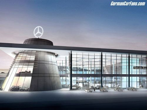 Mercedes-Benz Centers Set New Standards in Showroom Architecture