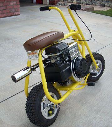 1960's  mini bikes   1965 Taco 22 Mini Bike View Image View Page