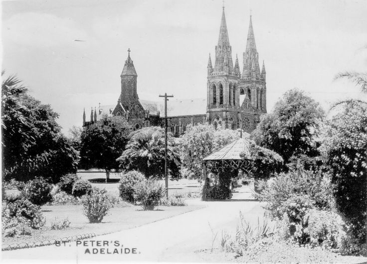St Peter's Cathedral in Adelaide,South Australia in 1950.