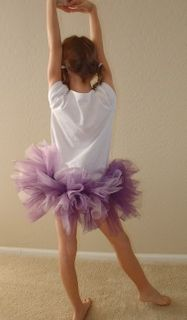 3-Layered Tulle Princess Skirt