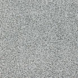 Stainmaster Chimney Rock Trusoft Gray/Silver Plush Carpet Sample S124498gray/Sil-130