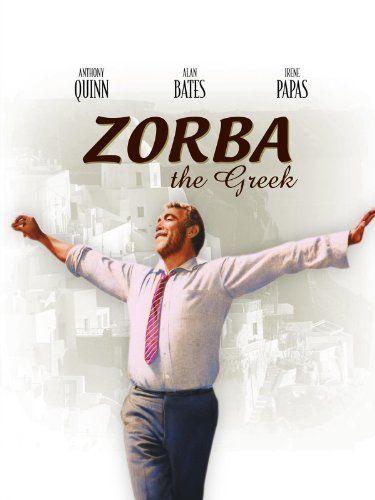 Zorba the Greek 1964 - Anthony Quinn, Alan Bates and Irene Papas
