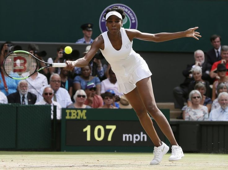 Venus Williams Reaches Wimbledon Final At Age 37 : The Two-Way : NPR