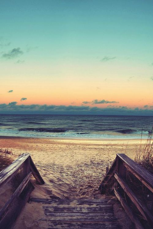 Nags Head, North Carolina.  O how I wish I was there ♥