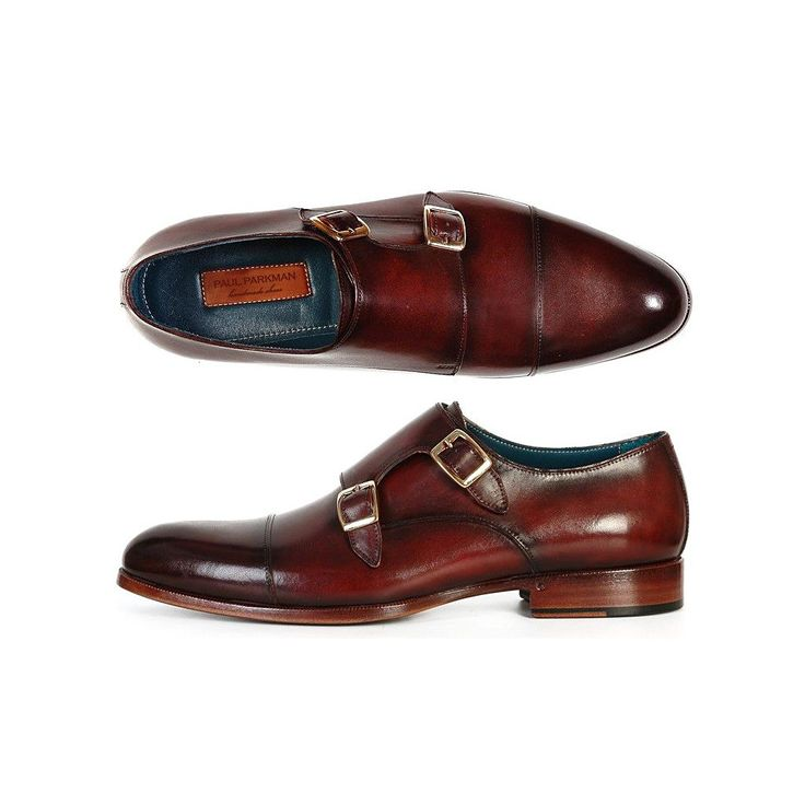 Paul Parkman 5032 - Zapatos de cordones de Piel para hombre Green / Yellow ahN8t