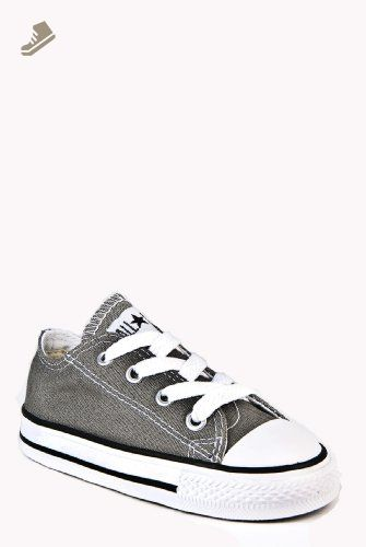 Converse CT All Star Ox Charcoal Toddlers Trainers Toddlers 4 UK - Converse  chucks for women