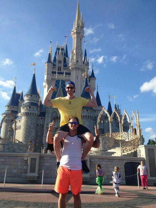 Emmett in Florida at Disneyworld!