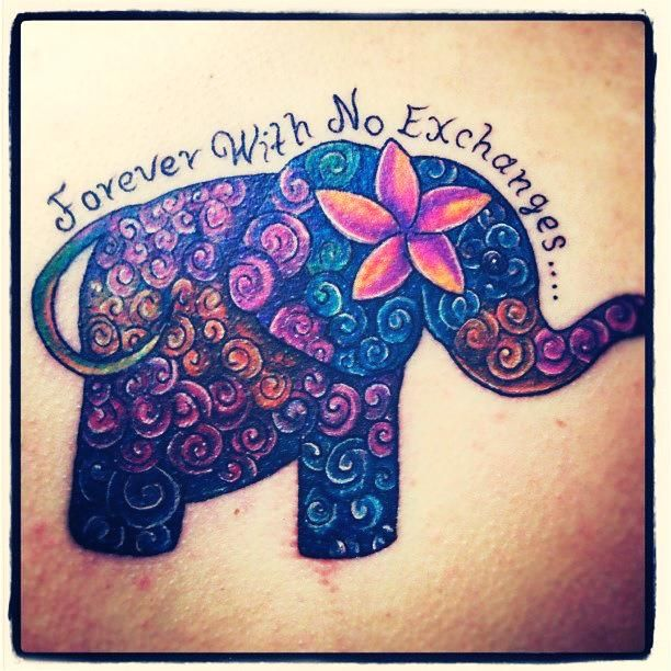 Elephant Tattoo Quotes