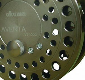 "Okuma Float Reels The Aventa Reels  Successful designed by Okuma reel for center-pin angling. The Fully Machined float reel called ""Aventa"" , an advanced example of incredible freespool and precision alignment."
