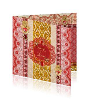 Islamitische / Arabische trouwkaart met ornamenten  http://mycards.nl/trouwkaarten/originele-trouwkaarten/origineel-islamitische-ornamenten-rood