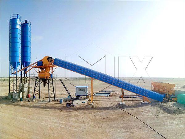 Мини бетон завод бетононасос для подачи бетонной смеси