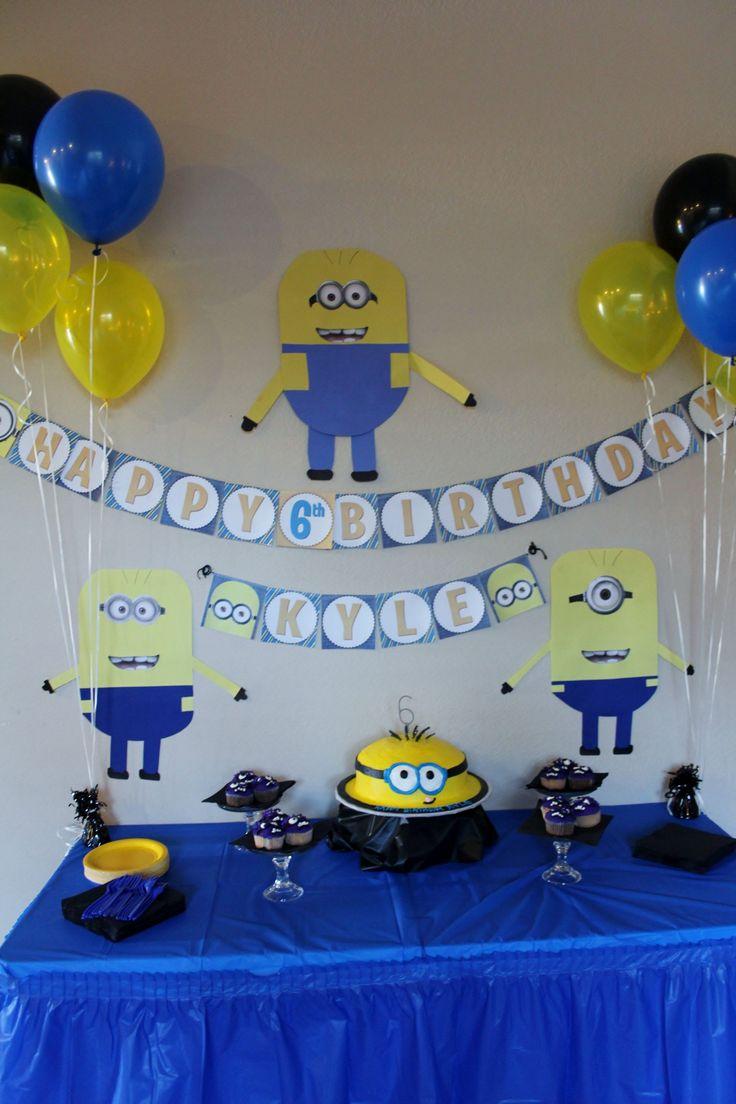 Diy Minion Birthday Party Ideas Luxury 32 Fantastic ...