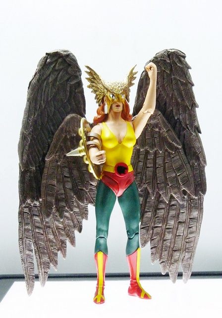 Hawkgirl  Dc Direct: Alex Ross @elbisnet